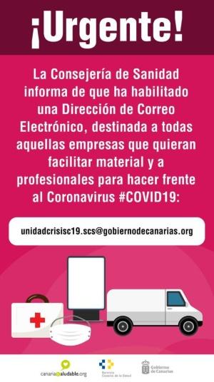 Información Covin19 Gobierno Canarias